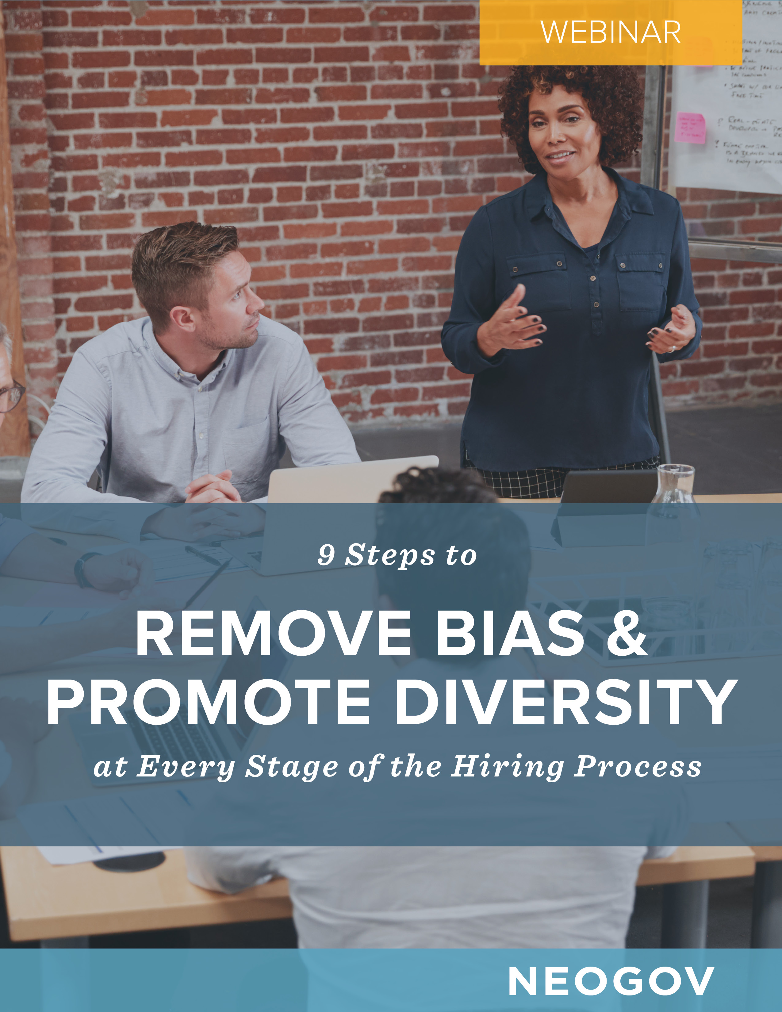 Webinar - 9 Steps to Remove Bias & Promote Diversity