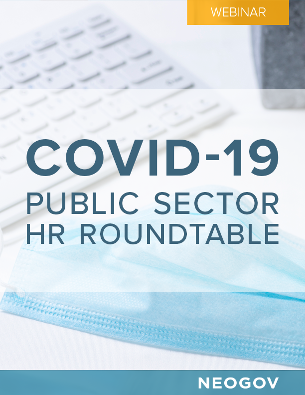 COVID-19 Public Sector HR Roundtable