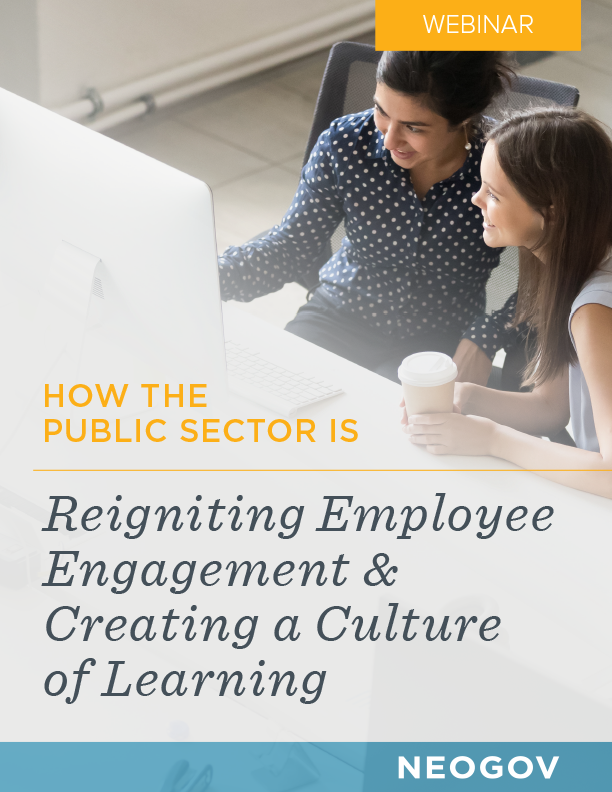 Webinar: Reigniting Employee Engagement and Creating a Culture of Learning