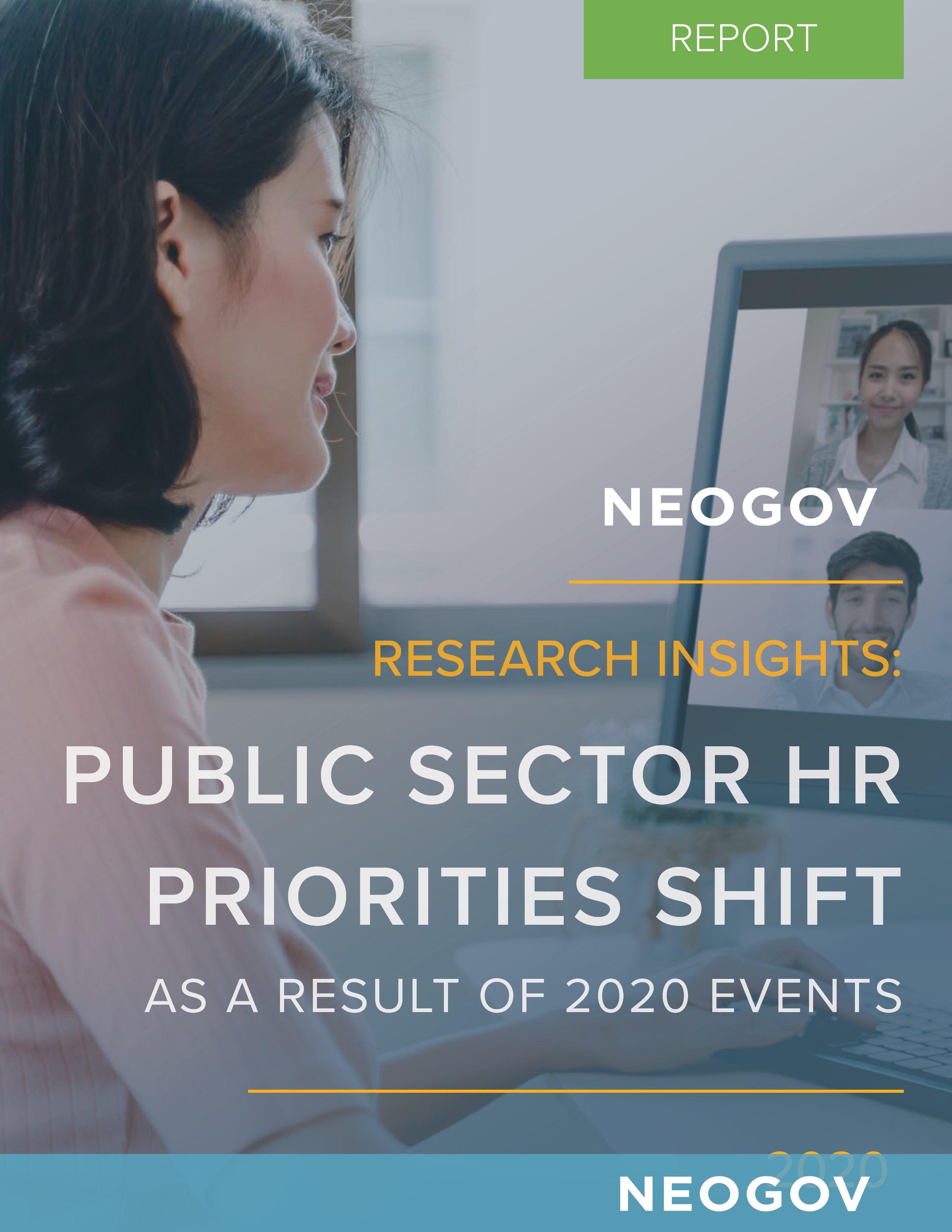 Report: Public Sector Priorities Shift